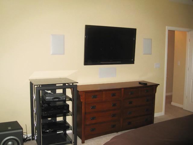 Surround Sound For Bedroom - Round Designs